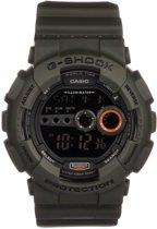 Casio G-Shock GD-100MS-3ER - Horloge - 52 mm - Kunststof - Groen