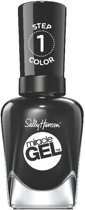 Sally Hansen Miracle Gel - 460 Blacky O - Gel Nagellak