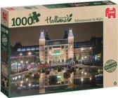 Amsterdam Rijksmuseum By Night 1000 stukjes puzzel