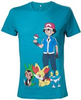 POKEMON - T-Shirt Ash Ketchum (XS)