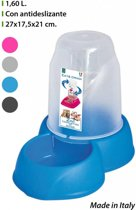 Georplast Voer en Water dispenser 1.6 L - Assorti
