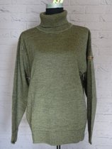 HKM Pullover met rolkraag [ Pully ] Maat M Olijf Nr. 960