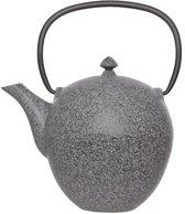 Cosy&Trendy Pear Theepot - 1 l -Gietijzer - Grijs