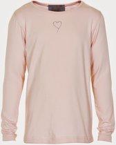 Creamie - meisjes shirt - Crissy LS basic - roze - Maat 104