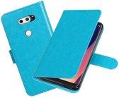 BestCases - Turquoise Portemonnee booktype hoesje LG V30