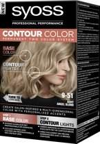 SYOSS Contour Color 9-51 Ashy Angel Blond 50 ml Haarverf - 1 stuk