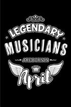 Legendary Musicians Are Born in April