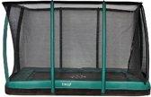 Etan Premium Gold Inground Trampoline Deluxe 310 x 232 groen- Gratis Afdekhoes