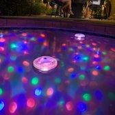 Drijvende Discolamp - Led Onderwater Lichtshow - Lightshow - Badspeeltje - Onderwater Lamp
