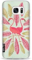 Casetastic Softcover Samsung Galaxy S7 - Flamingos Pink