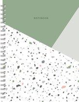 Terrazzo Notebook A5 - Lijn