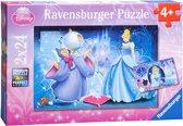Ravensburger Puzzel Betoverende Assepoester - Kinderpuzzel - 2x 20 Stukjes