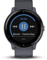 Garmin Vivoactive 3 Music - Smartwatch - Graniet Blauw/Rosegoud