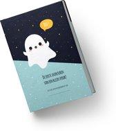 Heen en weer boekjes voor kinderopvang Creche -en oppasboek hardcover Spook