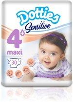Dotties Sensitive luier Maxi Plus