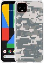 Google Pixel 4 XL Hoesje Army Digi Camouflage