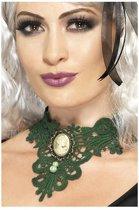 Femme Fatale Gothic Lace Choker