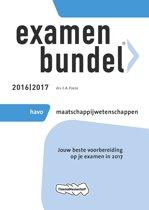 Examenbundel havo Maatschappijwetenschappen 2016/2017