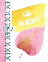 Fall Reading: Pastel Watermark Colors Keep Track of All the Books You Read Journal - Reading Review on Each Page Logbook for Girls