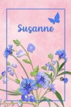 Susanne: Personalized Journal with Her German Name (Mein Tagebuch)