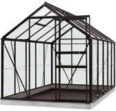 ACD serre 'Intro Grow Lily' polycarbonaat & aluminium zwart 6,2 m²