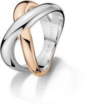 Tommy Hilfiger TJ2700965 Ring - Bicolor - maat 17.25