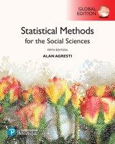 Boek cover Statistical Methods for the Social Sciences, Global Edition van Alan Agresti
