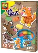 SES Funmais- legkaarten huisdieren