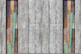 Fotobehang Modern Wood Planks Texture | XL - 208cm x 146cm | 130g/m2 Vlies