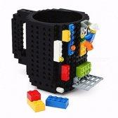 LEGO Bouwstenen Creative DIY Mok 350 ml - Zwart
