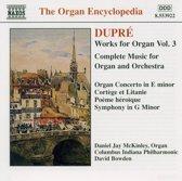 Dupre: Works For Organ Vol.3
