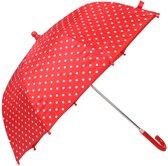 Playshoes paraplu met reflectoren rood
