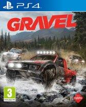Gravel PS4 - EN/AR Cover. Afspeelbaar in het Engels