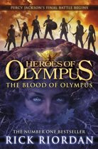 Omslag van 'The Blood of Olympus'