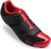 Giro Savix Schoenen Heren, bright red/black Schoenmaat EU 47