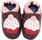 I-Wawa babyslofjes cupcake bruin