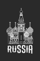 Russia: Tagebuch, Notizbuch, Buch 100 linierte Seiten im Softcover f�r alles, was man sich notieren und nicht vergessen m�chte