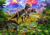 Educa Dinosaurussen vergadering - 500 stukjes