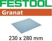 Festool schuurpapier Granat 230x280mm K320 (10st)