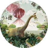 Pimpelmees muursticker Dino - kinderkamer - babykamer - 120 cm