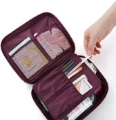 Travel Toilettas & Make Up Organizer - Dames - Wine Red