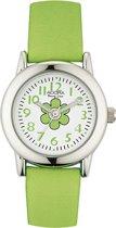 Adora meisjes horloge AY4369 groen met bloem