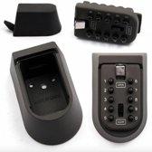 Stahlex sleutelkluis met cijferslot - Zwart