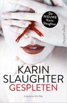 Boek cover Gespleten van Karin Slaughter (Paperback)