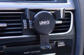 Flexibel Zwart Telefoonhouder auto - Universele telefoonhouder Ventilatierooster -Veilig Bellen en Navigeren - Kunststof