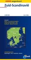 Anwb Wegenkaart / Zuid-Scandinavië 1:800.000 / Druk Heruitgave