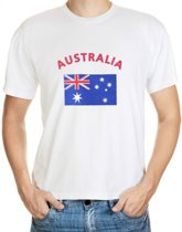 Australia t-shirt met vlag M