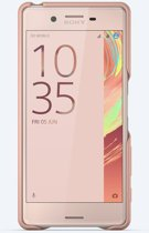 Sony Style Back Cover SBC22 - Hoesje voor de Sony Xperia X - Rosé Goud