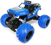 RC MONSTER ROCK CRAWLER - 2.4G 4WD MONSTER TRUCK BRUSHED 1:12 Blue