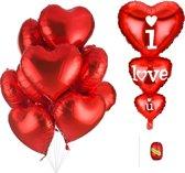 Ballonnen decoratieset DELUXE | Inclusief 14 artikelen | Rose goud kleur | Folie & Latex ballonnen | Luxe uitvoering | Verjaardagsfeestje | Feest | kinderfeestje | party | ballon | versiering | Sweet 16, 18, 21 | Sarah | Abraham | verjaardag
